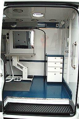 Hanvey HGV +4 Mobile Grooming Vans and Sprinter Hybrid Grooming Vans