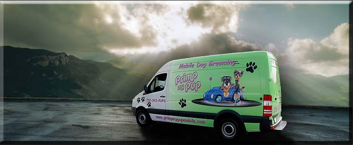 Hanvey X2 Mobile Grooming Vans Sprinter Van And Trailers Too By Engineering Design LLC
